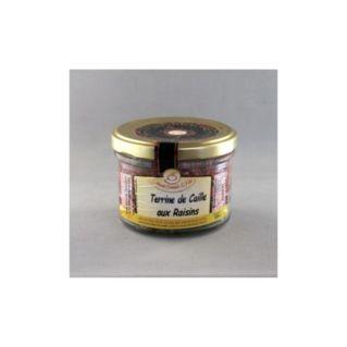 Terrine de Caille aux Raisins 180 gr