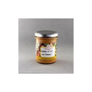 Crème d'ail au piment 180 gr
