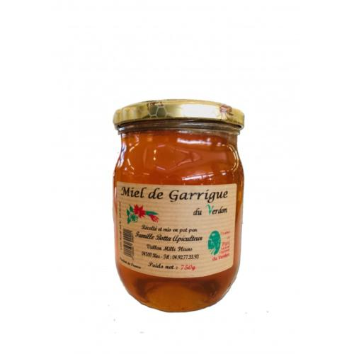 Miel de Garrigue 750gr