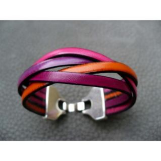 Bracelet tresse 4 brins