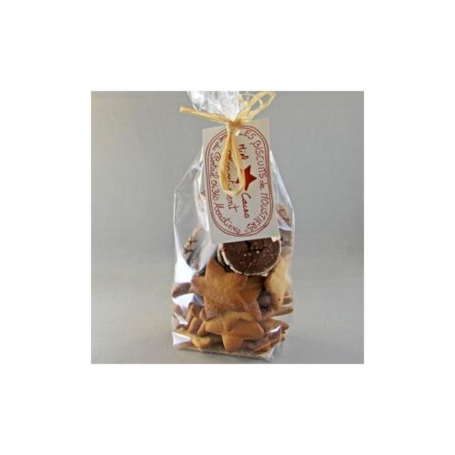 Biscuits miel de lavande et cacao