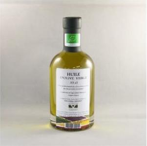 Huile d'olive vierge bio 33 cl.