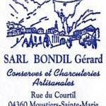 Gérard BONDIL et fils